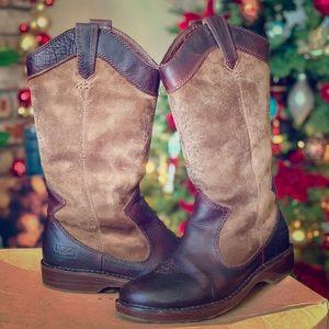 cb9bd8abaf6 Women Ugg Cowboy Boots on Poshmark